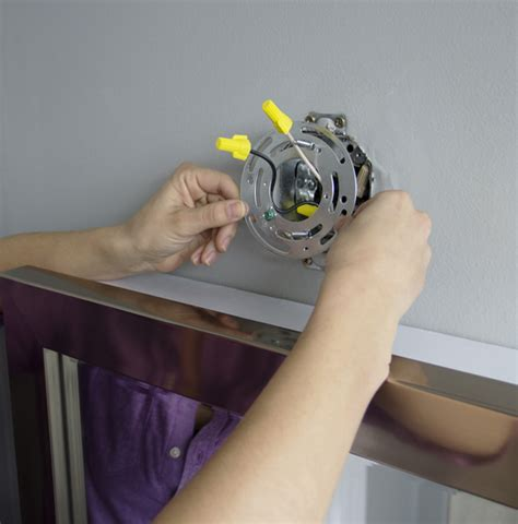 how to replace a light fixture grace gumption install bathroom light fixture no junction box 28 images