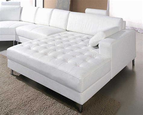 white sectional sofa leather white leather snow sectional sofa sectionals