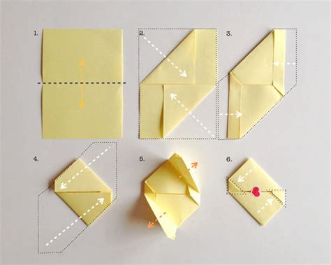 a4 paper origami diy stationery for s day simple origami