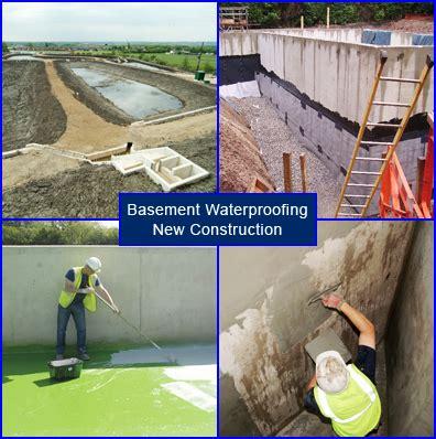 waterproof basement construction basement waterproofing in new construction and building