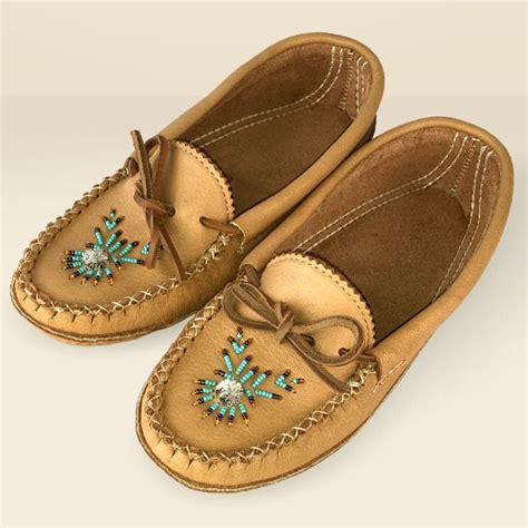 beaded moccasins and s beaded moosehide moccasins maple b4890