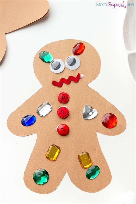 gingerbread crafts for decorate a gingerbread activity for