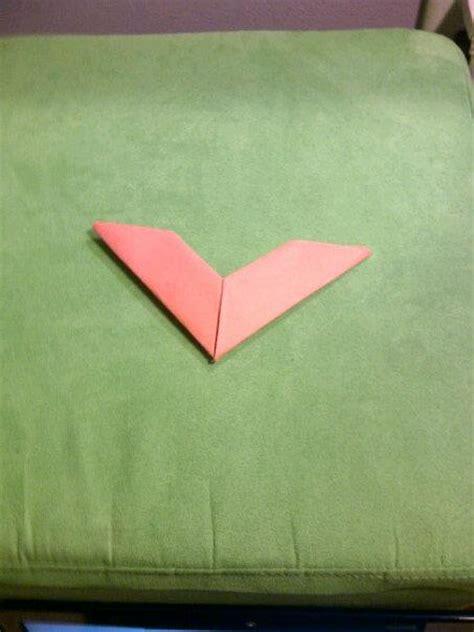 origami boomarang origami boomerang by miyuki kiyoshi on deviantart