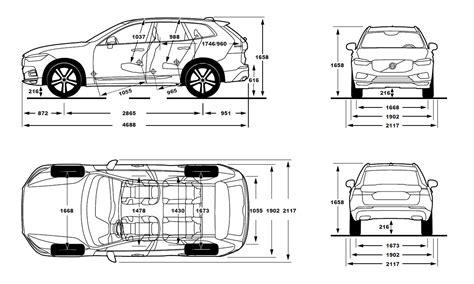 Volvo Xc60 Dimensions dimension volvo xc60 2017 volvo xc60 dimensions car image