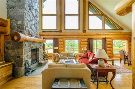 modern log home interiors log cabin interiors for the most comfortable at home small plans modern cozy interior walls