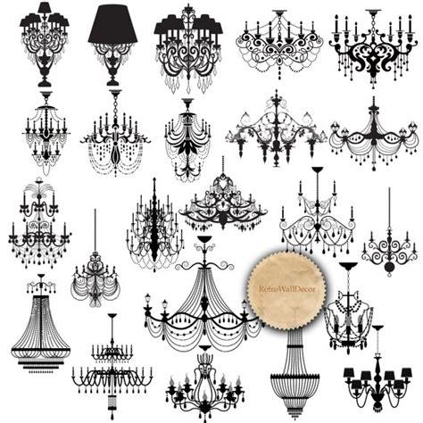 chandelier silhouette clip chandelier silhouette clip black chandelier wedding
