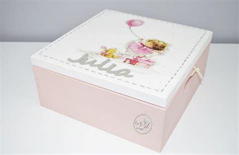 decoupage editing pudrowe pudełko z dziewczynką z balonikiem dla julki by lil