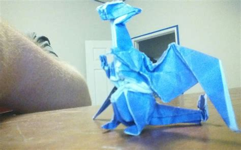 origami charizard my origami charizard by cmwacker99 on deviantart