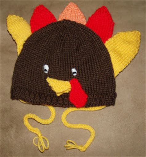 knit turkey hat pattern beadwhore knitting gobble gobble thanksgiving turkey hat