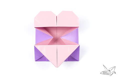 origami tool box origami opening box envelope tutorial paper kawaii