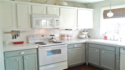 photos of painted kitchen cabinets green painted kitchen cabinets photos