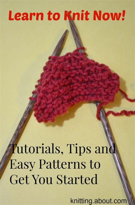 learn knitting patterns for beginners 25 best ideas about beginner knitting on