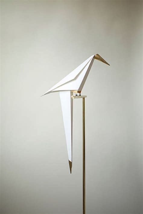 origami lights perch light origami bird l by umut yamac homeli