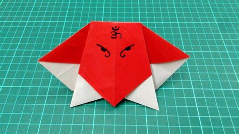 origami craft paper free coloring pages how to make origami paper boy