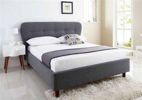 size upholstered bed oslo upholstered bed frame king size beds bed sizes