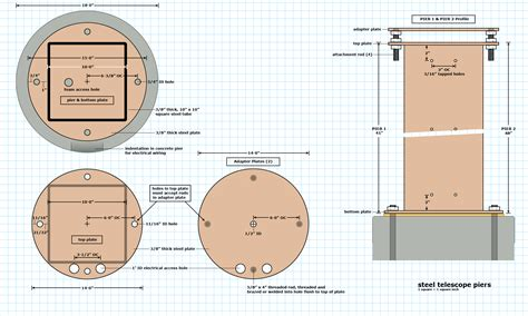 1 Story House Plans observatory plans version 4