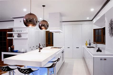 kitchen lighting modern 17 light filled modern kitchens by mal corboy