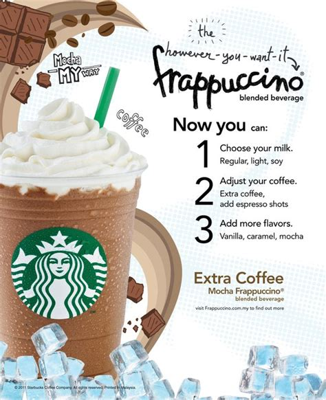 Starbucks Malaysia ?However You Want It? Frappuccino   Coffee Blog, Gourmet Coffee, RTD Coffee