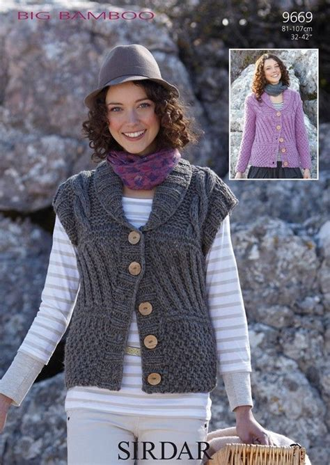 sirdar big bamboo knitting patterns 17 best images about simple cardigan designs on