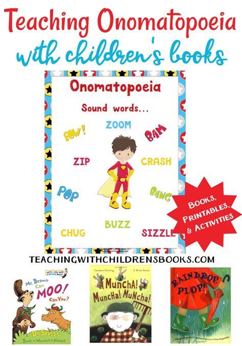onomatopoeia picture books how to teach onomatopoeia with picture books free printables