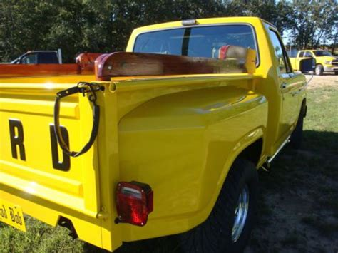 find used 81 ford f100 stepside truck 460 motor 9