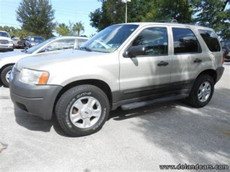 2003 Ford Escape Xlt by Buy Used 2003 Ford Escape Xlt In 2180 S Woodland Blvd