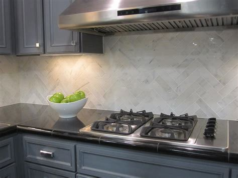 marble backsplash kitchen herringbone kitchen backsplash design ideas