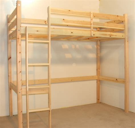 pine bunk beds icarus 4ft small heavy duty solid pine high sleeper