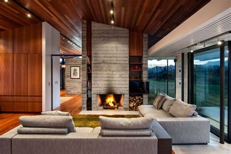 modern style homes interior modern ranch style home with land loving layout and materials