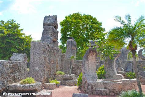 florida rock garden ed leedskalnin s coral castle rock garden