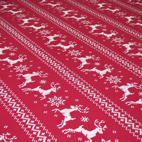 knit print fabric nerone reindeer knit print fabric at fabrics