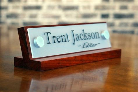 office desk name plates office accessories decor desk name plate for birthday