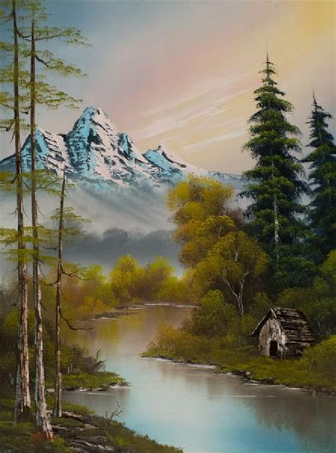 bob ross of painting uk bob ross paintings for sale foot of the mountain