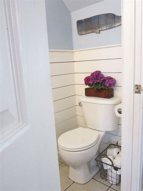 half bathroom ideas half bathroom makeover