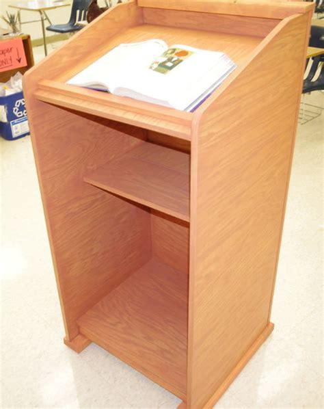 podium woodworking plans wood lectern podium