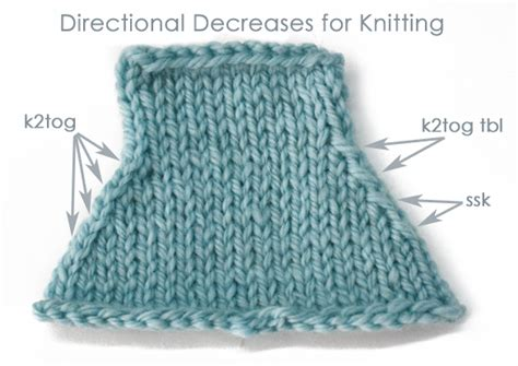 Decrease Knitting