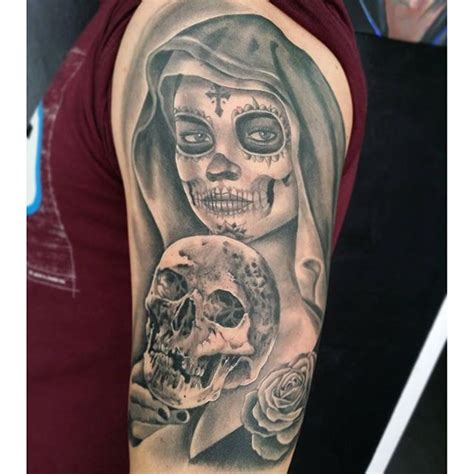tattoo tatuaje catrina skull on instagram