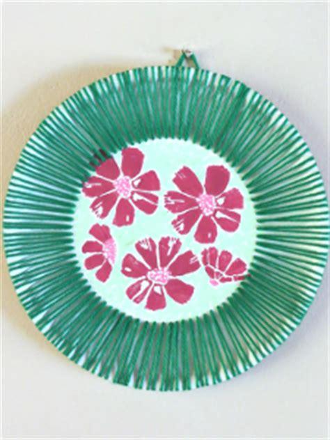 hawaiian arts and crafts for hawaiian inspired paper plate allfreekidscrafts