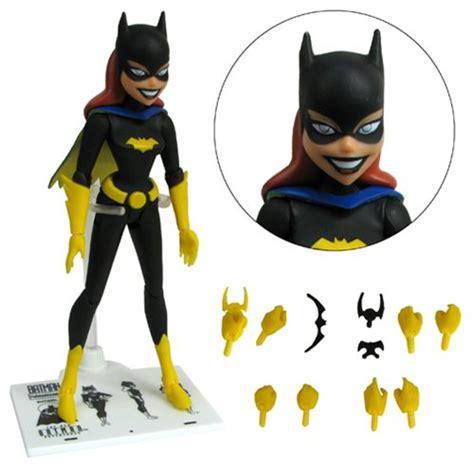 animated figures batman the animated series batgirl figure dc