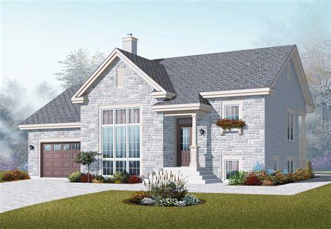 split level home plans split level house plans home design 3266