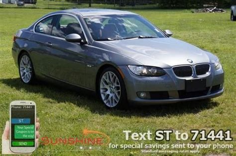 how cars run 2008 bmw 3 series transmission control sell used 2008 bmw 3 series 328i manual transmission 6 speed coral red leather in battle