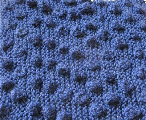 knitting bobbles knitting stitches bobbles