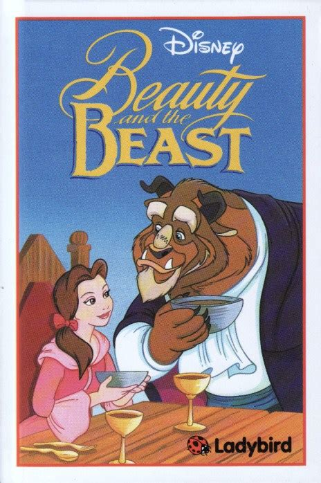 the beast picture book and the beast ladybird book disney series gloss