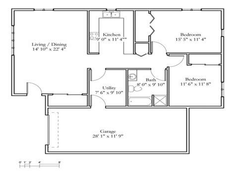 small 2 bedroom cottage 2 bedroom cottage floor plans