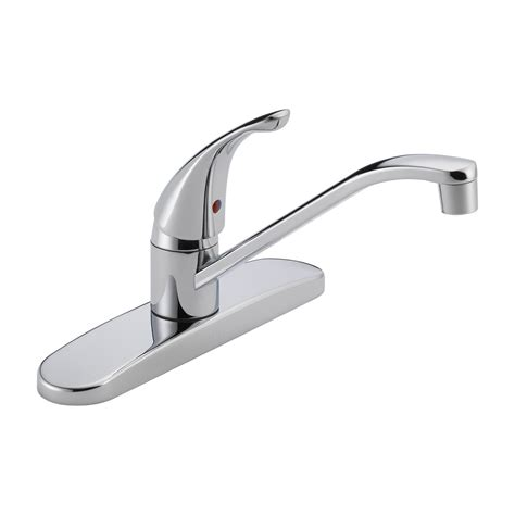 delta kitchen faucet single handle delta faucet p110lf single handle kitchen faucet