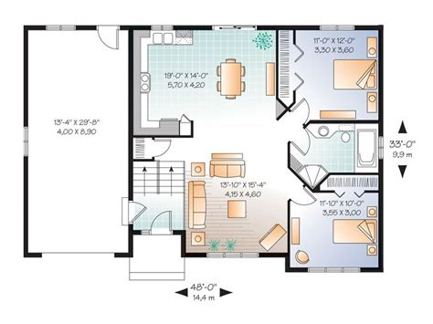 small split level house plans small home plans affordable split level house plan 027h 0304 at thehouseplanshop