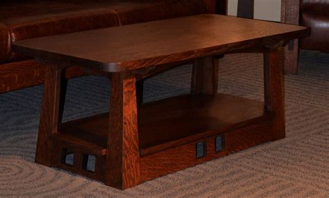 style coffee table get comfort with a mission style coffee table coffee