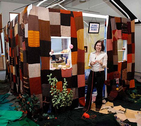 the knit house the size tale house made of millions of
