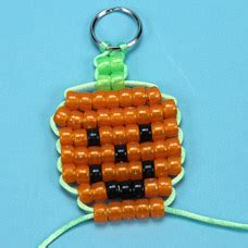 how to make a bead pet o lantern bead pet craft project ideas
