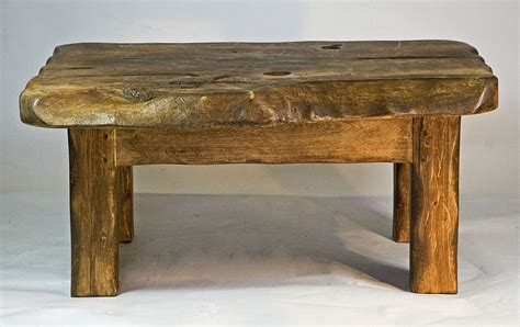 small wooden coffee table rustic handmade small wooden coffee table by kwetu
